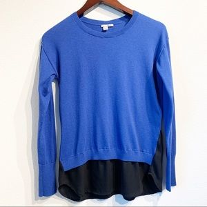 Halogen | Button back Cashmere Blend Sweater